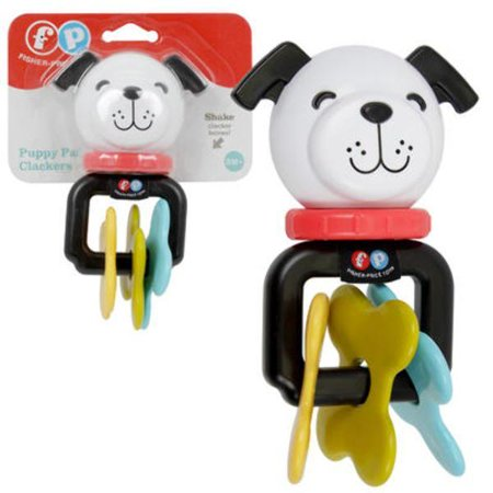 Fisher-Price Puppy Pal Clacker Baby Toy - CASE OF 6