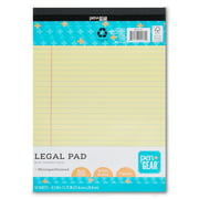 Pen + Gear Legal Pads, Canary Color Paper, 50 Sheets, Wide Ruled, 1 Count