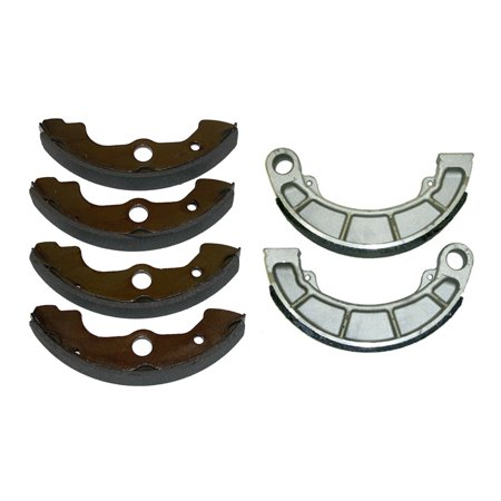Factory Spec, KIT-7118118101, Front & Rear Brake Shoes compatible with Honda Rancher 350, Rancher 400, Foreman 400 & Foreman