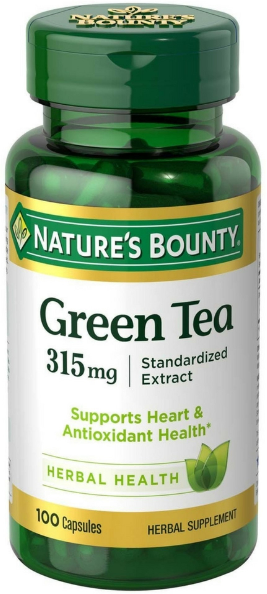 Nature's Bounty Green Tea Extract Weight Loss Supplement