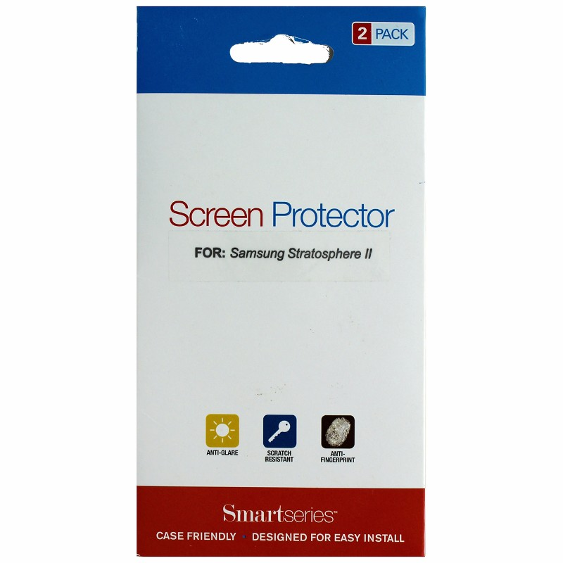 Smartseries 2-pack Screen Protector for Samsung Stratosphere II