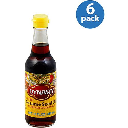 Dynasty Sesame Seed Oil, 12 oz (Pack of 6)