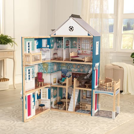 KidKraft Grand Anniversary Dollhouse with 20 Accessories Included