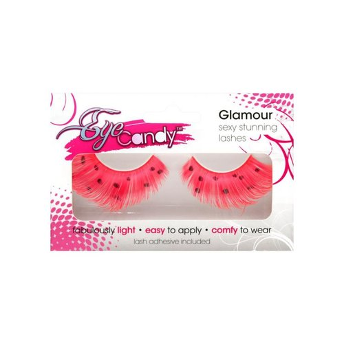 EYE CANDY EYELASHES BRIGHT WINGED LASH WITH  ACCENT ONE SIZE