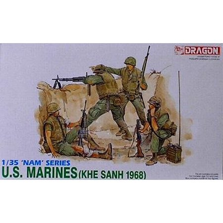 Dragon Models 1/35 U.S. Marines (Khe Sanh 1968) Dragon Model Kits