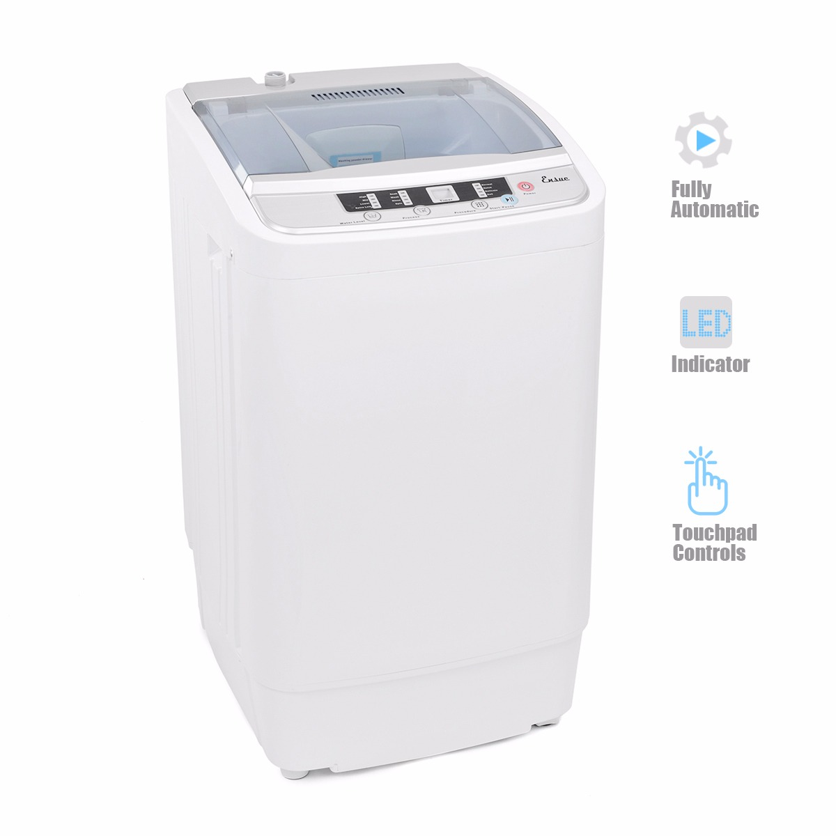 compact washer dryer combo 7 7lb automatic mini washer and spinner dryer portable 12151