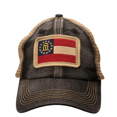 db705f5101441 Southern Hooker Georgia State Flag Trucker Hat - Walmart.com