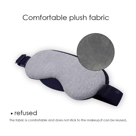 Heated Eye Mask, Electric USB Sleep Mask, Adjustable Temperature Time Control, Comfortable Warm Or Cold Massage, Eye Mask For Puffy Eyes, Dry, Tired Eyes And Dark