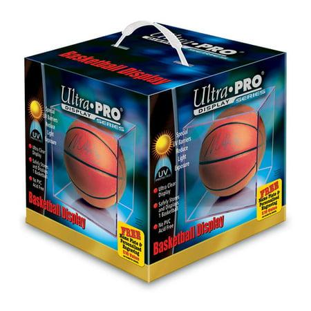 Basketball Display Case - Ultra Pro UV Basketball Display Case