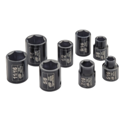 "8 Piece 3/8"" Drive SAE Impact Socket Set"