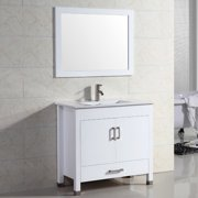 Adornus Amadis 24'' Single Vanity Set with Mirror