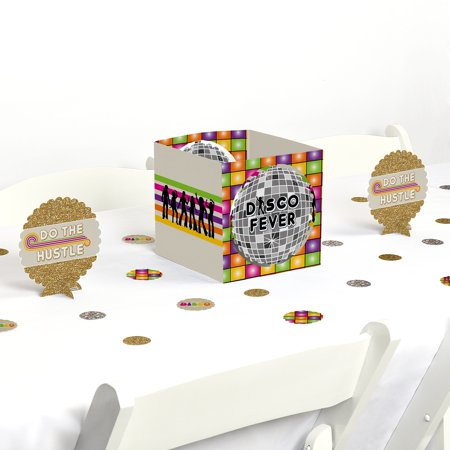70's Disco - 1970's Disco Fever Party Centerpiece & Table Decoration Kit (Disco Party Supplies)