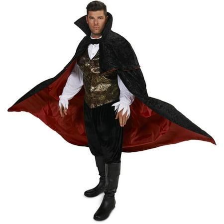 Eerie Vampire Male Men's Plus Size Adult Halloween Costume - Men Vampire Costumes