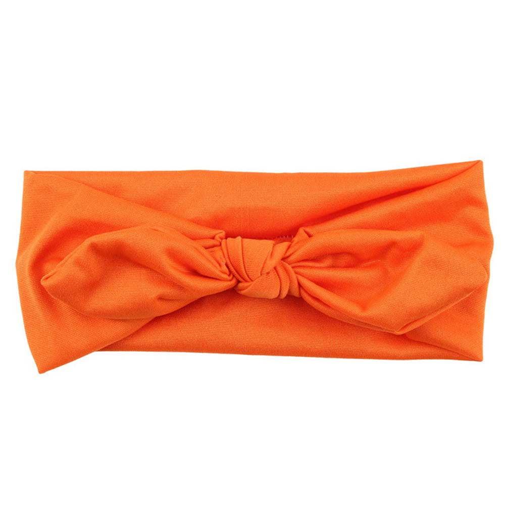 Women Yoga Elastic Bow Hairband Turban Knotted Rabbit Hair Band Headband GN