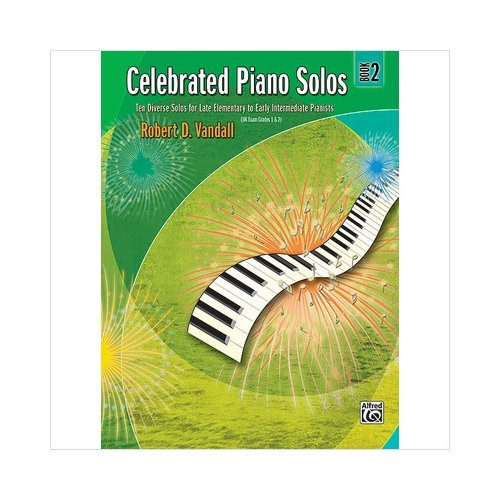 Alfred 00-881125 Celebrated Piano Solos- Book 2 - Music Book