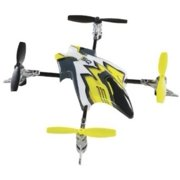 Heli-Max Canopy Set with 4 Rotor Blades, Yellow