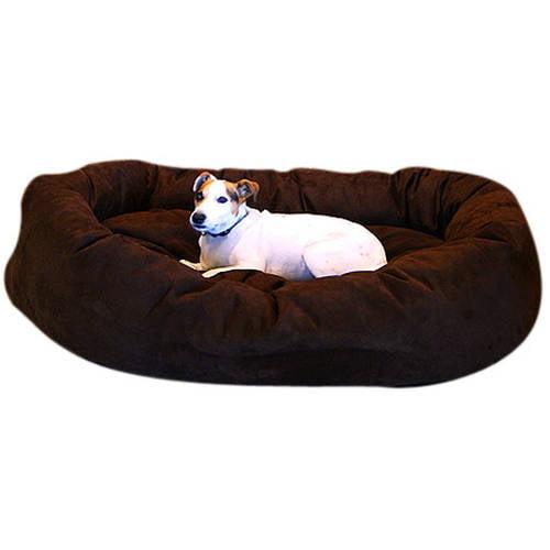 Medium 32'' Majestic Pet Bagel Bed,Micro Suede in Multiple Colors