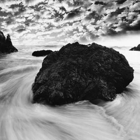 Tide Swirl Poster Print by PhotoINC Studio
