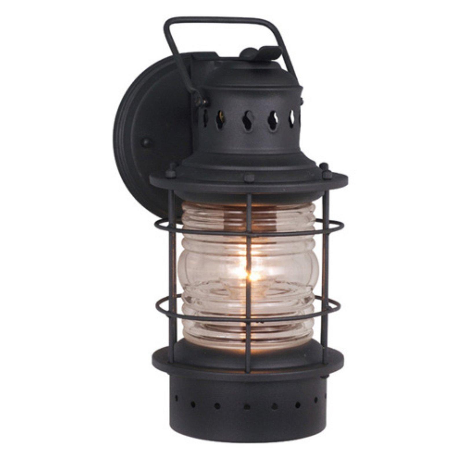 Vaxcel Hyannis Outdoor Wall Light - 5.5W in. Textured Black
