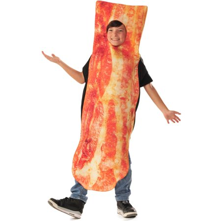 Photo Real Children's Bacon Costume for Kids