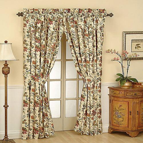 Waverly Felicite Curtain Panel Walmart Com