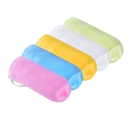 Soap Bags Pretty See 5 Pieces Set Practical Saver Pouches Durable