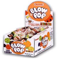 Charms Blow Pops Assorted Lollipops, #3869 100 Lollipops Box by Charms Lollipops
