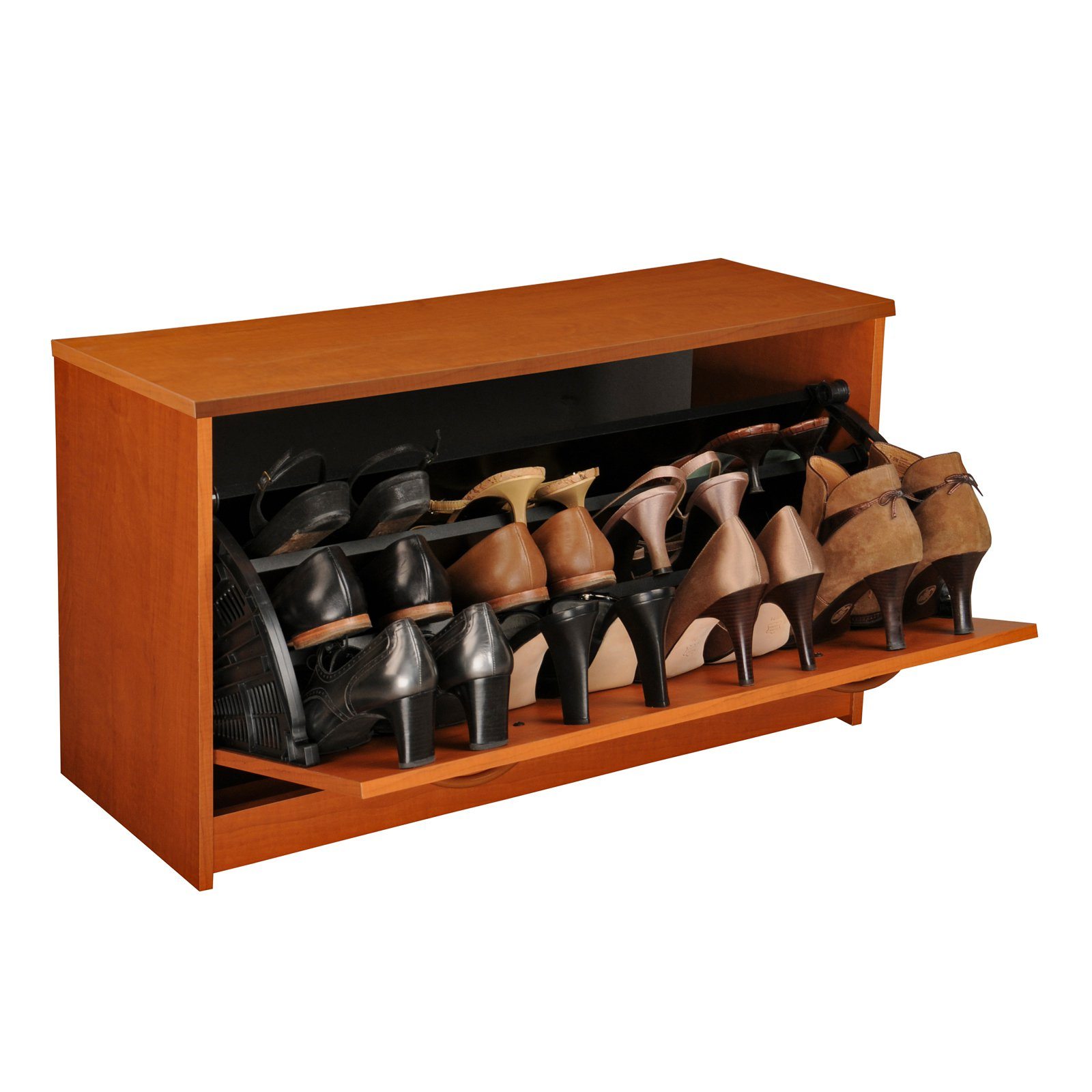 Shoe Cabinet, Single, Cherry
