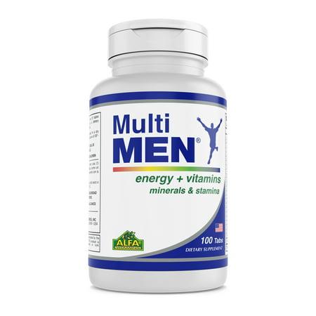 Alfa Vitamins Multi Men 100 capsules