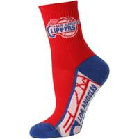 LA Clippers Women's Zoom Quarter-Length Socks - Lad 9-11