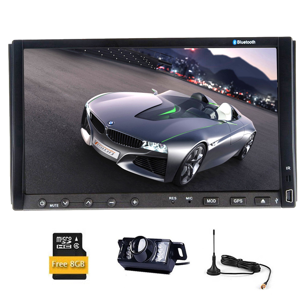 BT Audio Car Video Player RDS Audio Radio Receiver In Das...