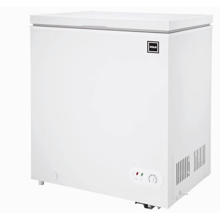RCA, 5.1 Cu Ft Chest Freezer, White