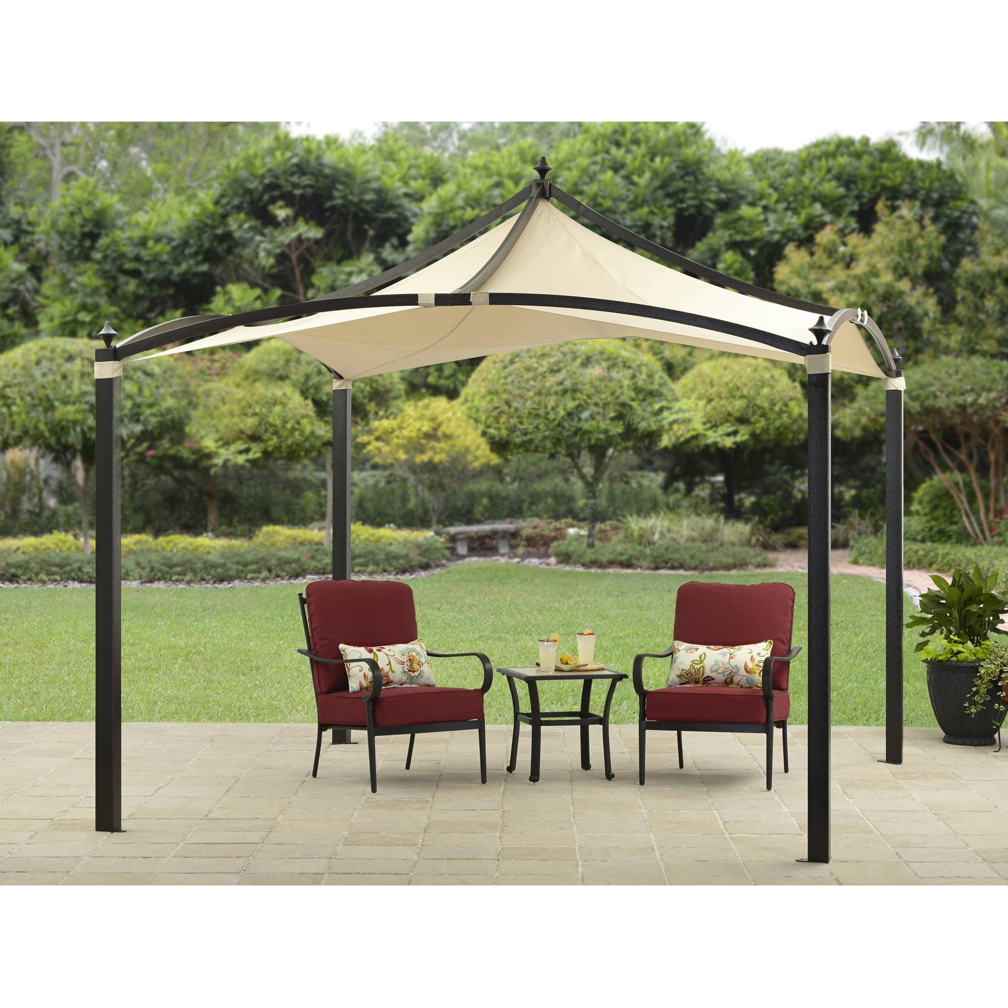 ALEKO GZ6.5X6.5GR Popup Gazebo Canopy Patio Coffee Shelter 6.5 x 6.5 Feet Green