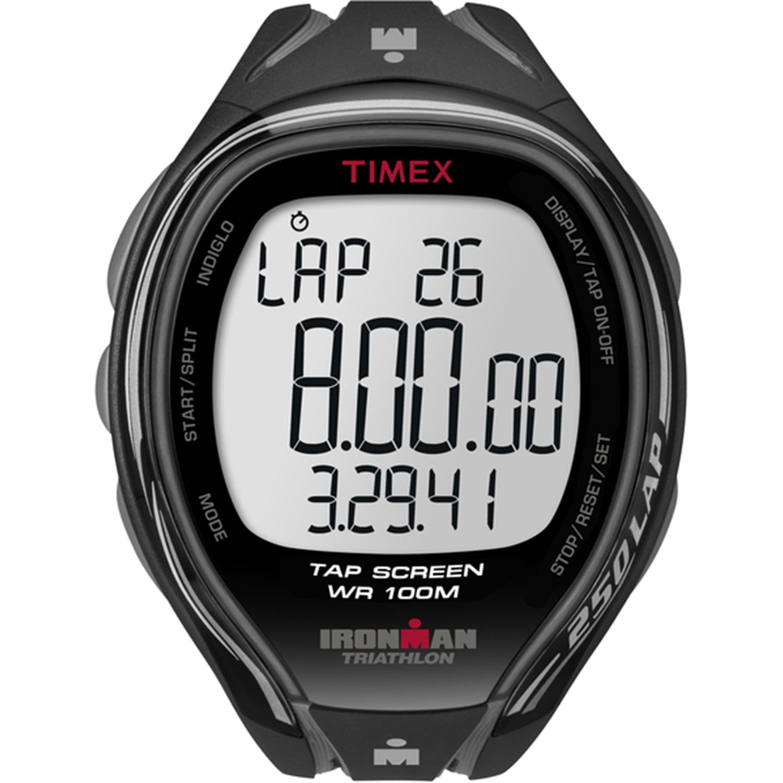 Timex - Timex Men s Ironman Rugged 30 Full-Size Black Resin Strap Watch -  Walmart.com 42d2ff78d5f7