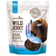 Full Moon All Natural Wild Jerky Dog Treats, 10 Ounce (Various Flavors)