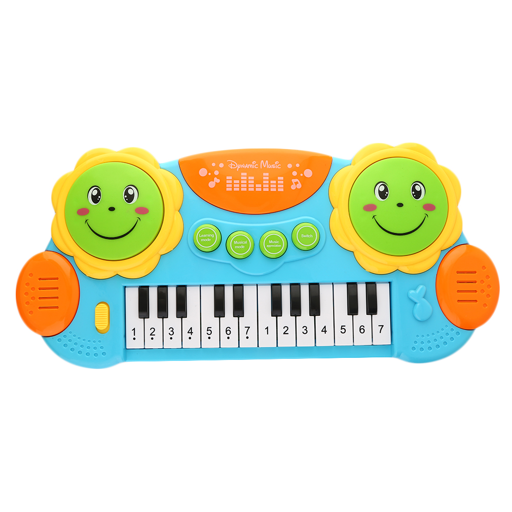 2017 New Multi-colored Kids Musical Organ Electronic Organ Keyboard Hand Beat Pat Drum... by