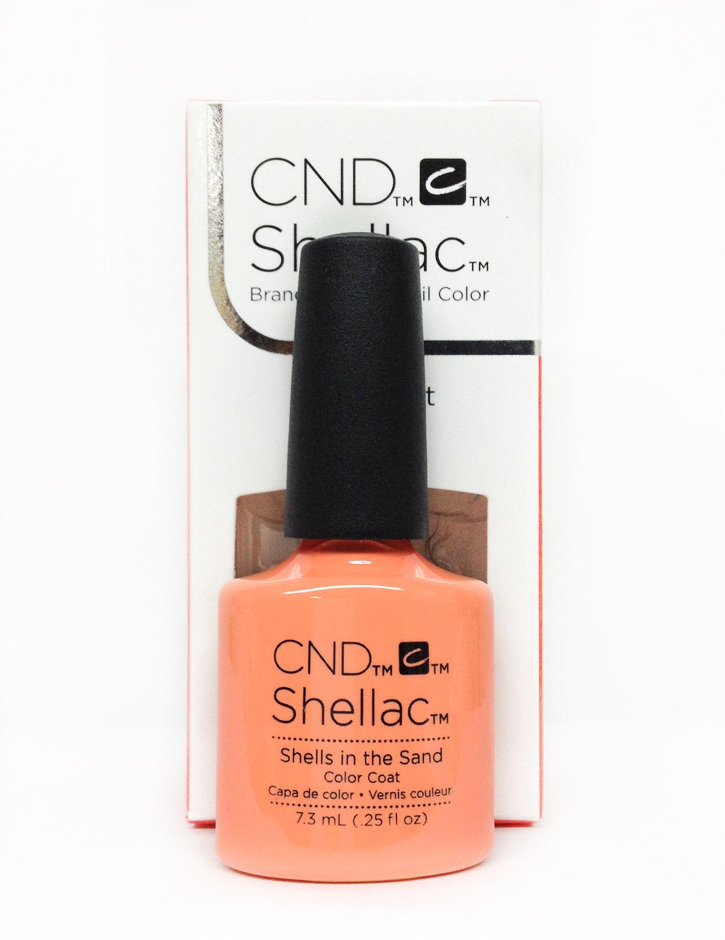 CND Shellac UV Gel Polish 0.25oz/7.3ml - (CND91590 - Shells in the Sand)