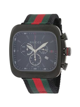 ce1509c4b36 Product Image Chronograph Coupe Green and Red Stripe Nylon Men s Watch