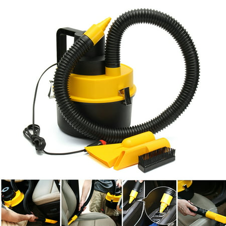 Outtop 12V Wet Dry Vac Vacuum Cleaner Inflator Portable Turbo Hand Held For Car](Vans On Clearance)