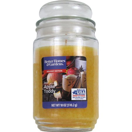Better Homes And Gardens Jar Candle, Hot Apple Toddy, 18 oz