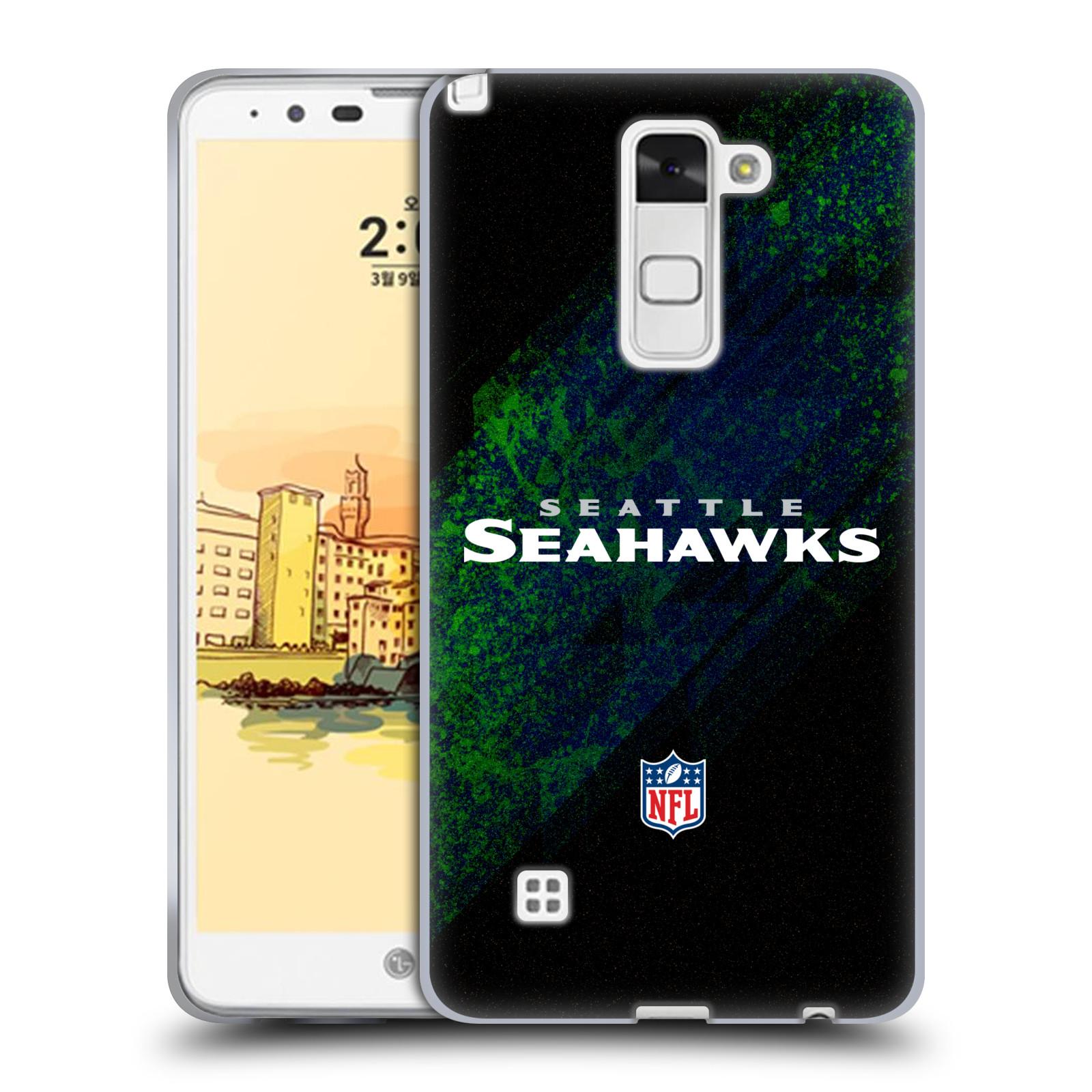 OFFICIAL NFL SEATTLE SEAHAWKS LOGO SOFT GEL CASE FOR LG PHONES 3