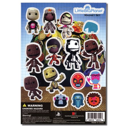 Magnet - Little Big Planet - New Sheet Cutout Characters Licensed - Candyland Character Cutouts