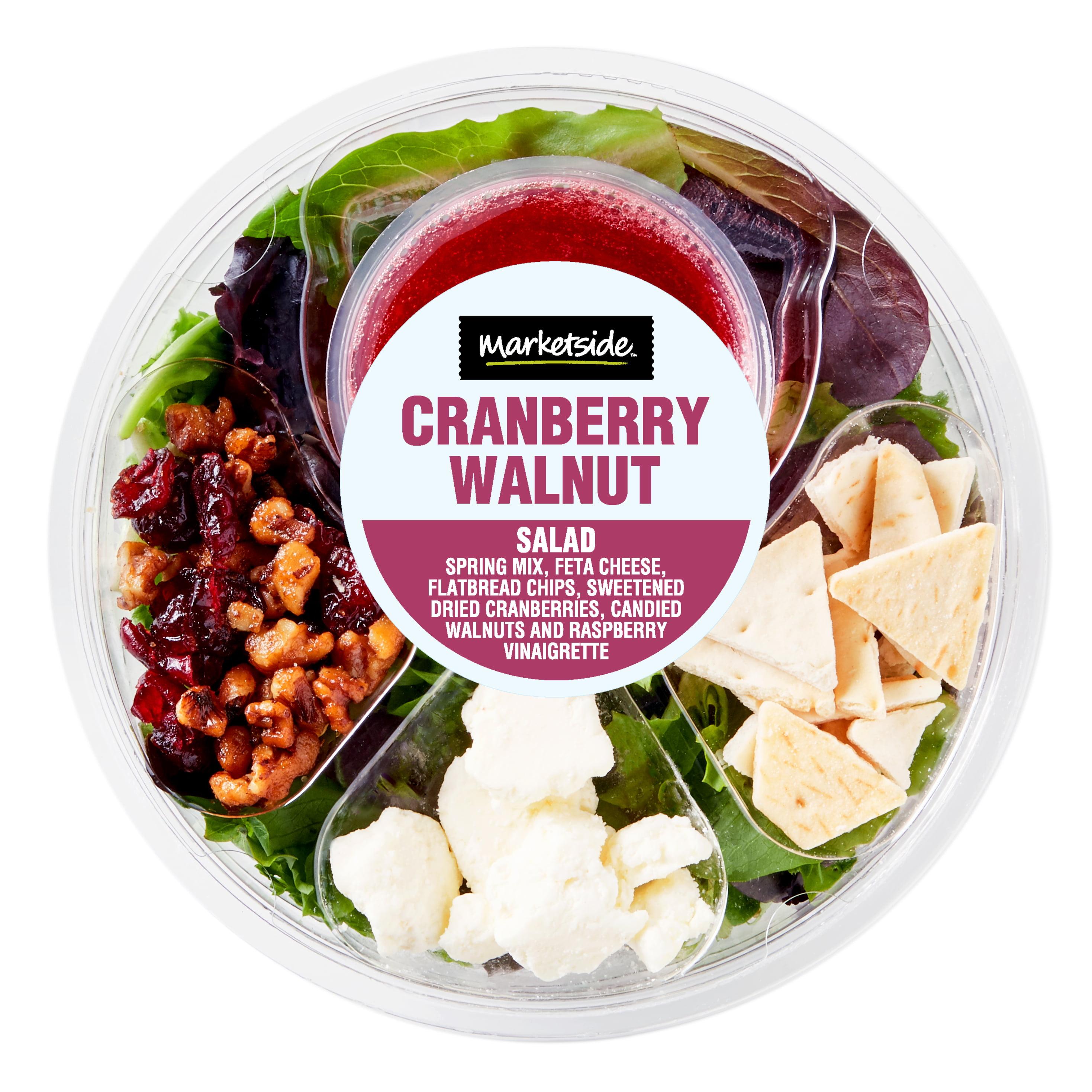 Marketside Cranberry Walnut Salad 4.5oz