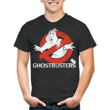Ghostbuster Men's Classic Logo Short Sleeve (Marines Logo Shirt)