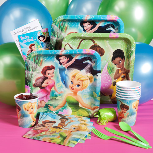 Tinker Bell Birthday Party Pack for 8