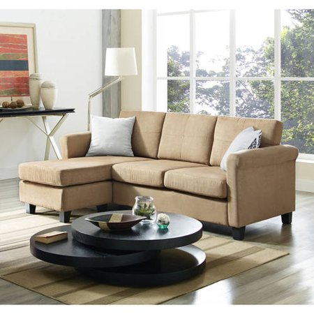 Dorel living small spaces configurable sectional sofa - Sectionals for small spaces ...