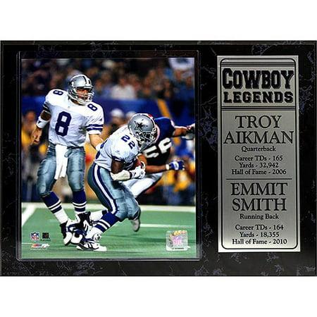 Dallas Cowboys Plaque (NFL Dallas Cowboys Greats Stat Plaque, 12x15)