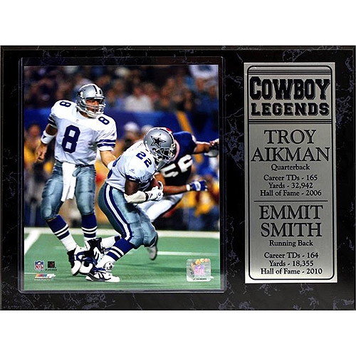 NFL Dallas Cowboys Greats Stat Plaque, 12x15