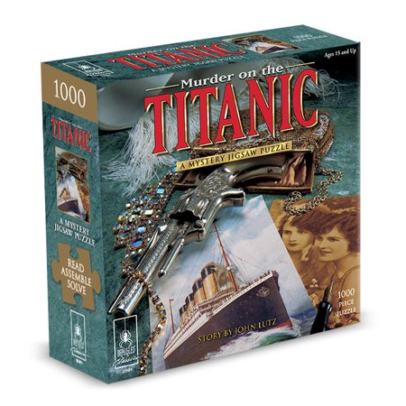 Murder On The Titanic Classic Mystery Puzzle (Best Puzzle Mystery Games)