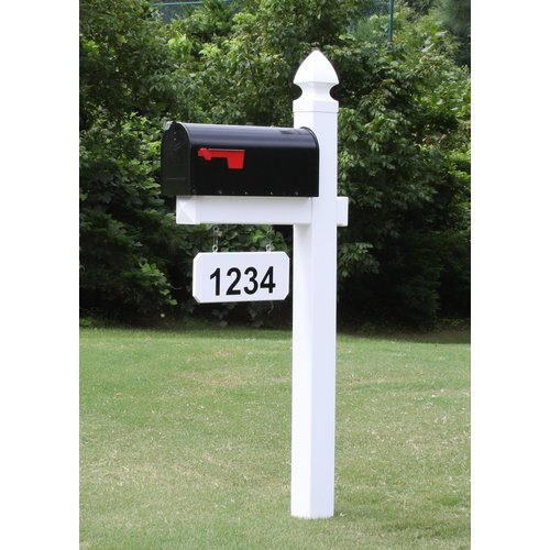 4Ever Products Mailbox with Post Included